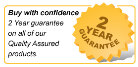 2 year guarantee on all products