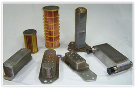 Bus and truck Oilcoolers